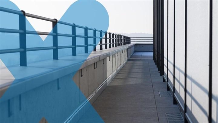 Reduzierung von Wärmebrücken an Gebäuden nach neuem Gebäudeenergiegesetz kombiniert mit sicheren Abdichtungslösungen [Schöck und Triflex]