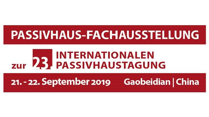 23. Internationale Passivhaustagung
